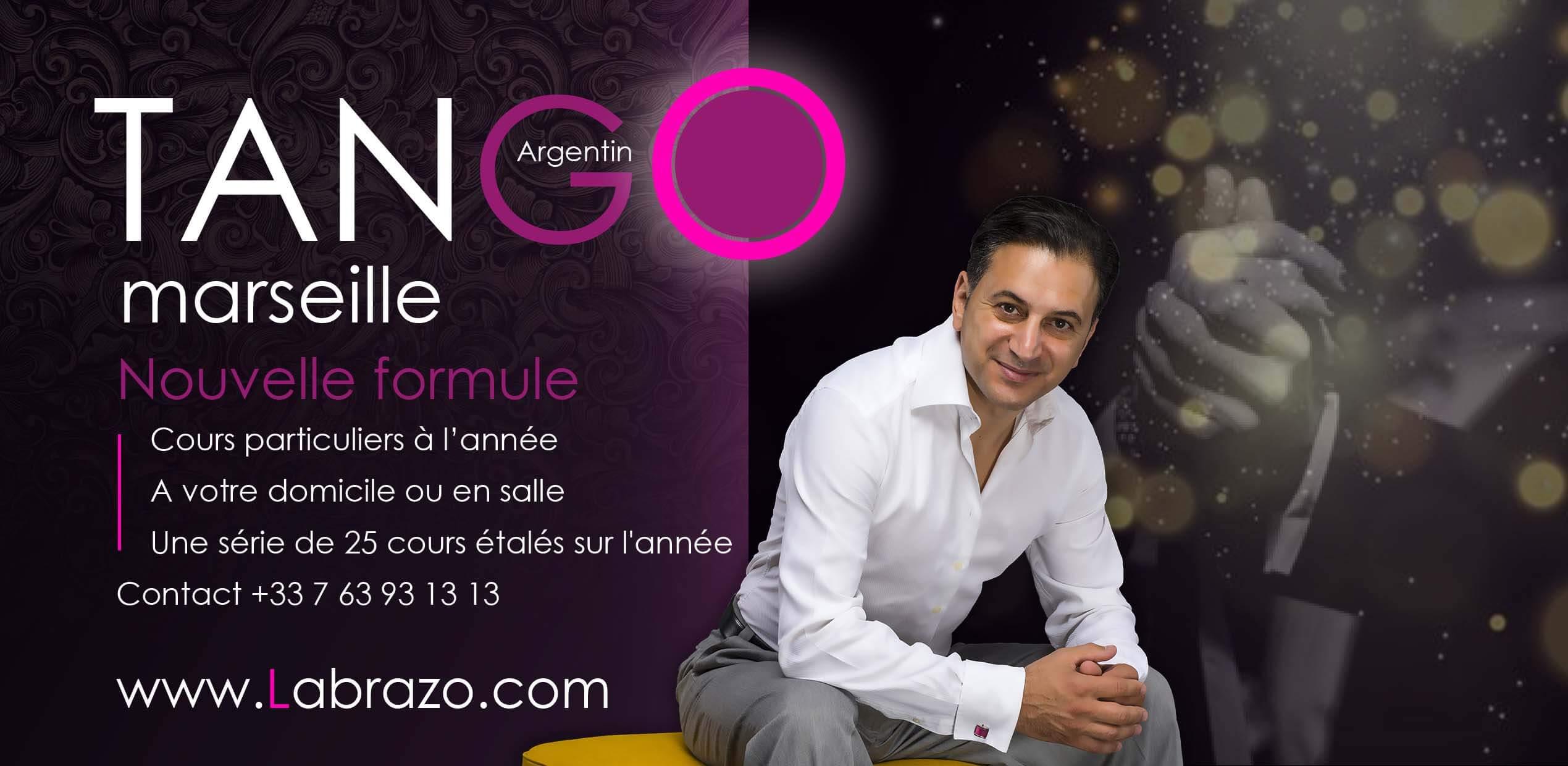 Cours de Tango argentin a Marseille