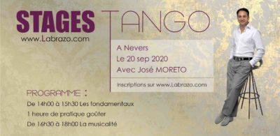 Stage Tango Argentin à Nevers danse Latine avec José Moréto