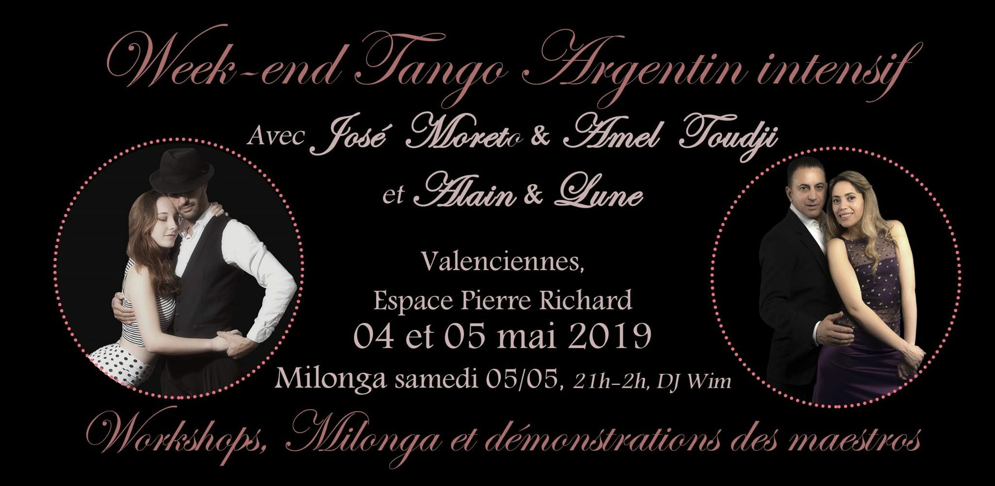 Stages Tango Valenciennes